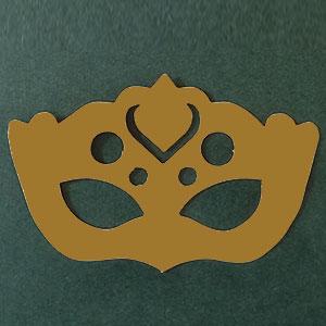 antifaz 2 oro viejo stardream Bond papel