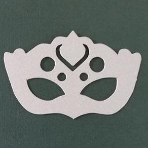 Antifaz 2 decorativo plata stardream Bond papel