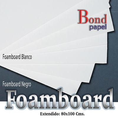 foamboard_blanco negro Bond papel