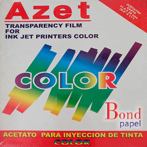 acetatos-carta-ink-jet Bond papel