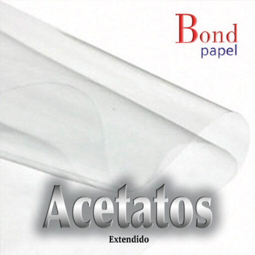 acetatos-extendido Bond papel