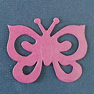 Mariposa Espiral Orquídea Bond papel