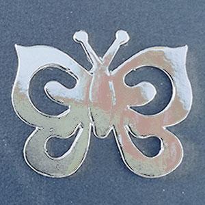 Mariposa Plata Brillante Bond papel