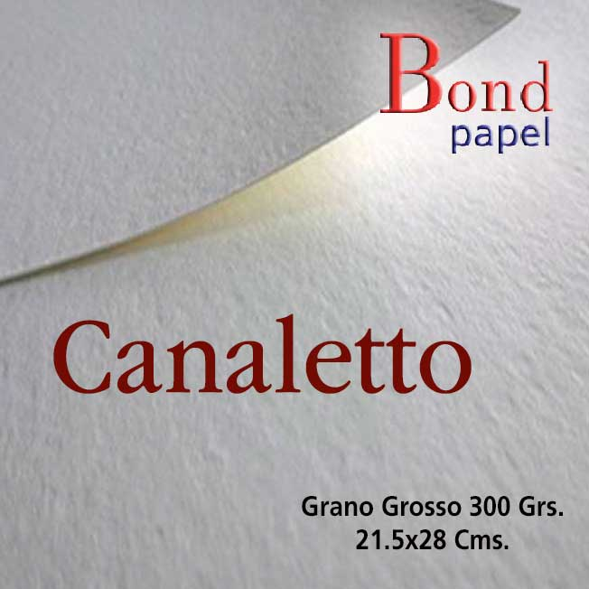 Canaletto 300 grs. Bond papel