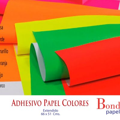 Adhesivocolor Bond papel