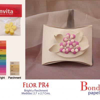 Flor PR 4 Bond papel