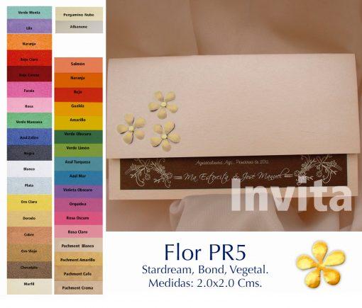FlorPR5 Bond papel