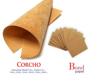 Corcho-Bondpapel