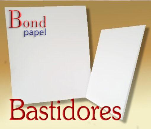 bastidor Bond papel