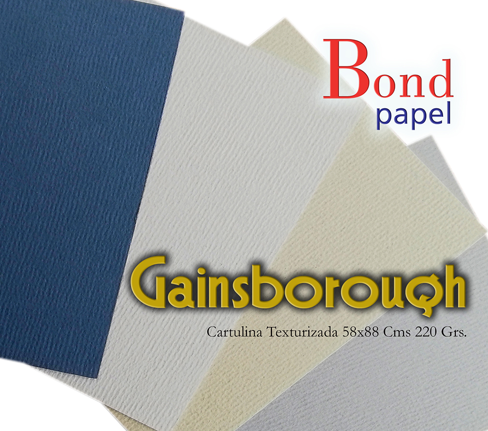 Papel y Cartulina Gainsborough Bondpapel