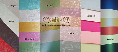 Papel y Cartulina Metálica M Bondpapel