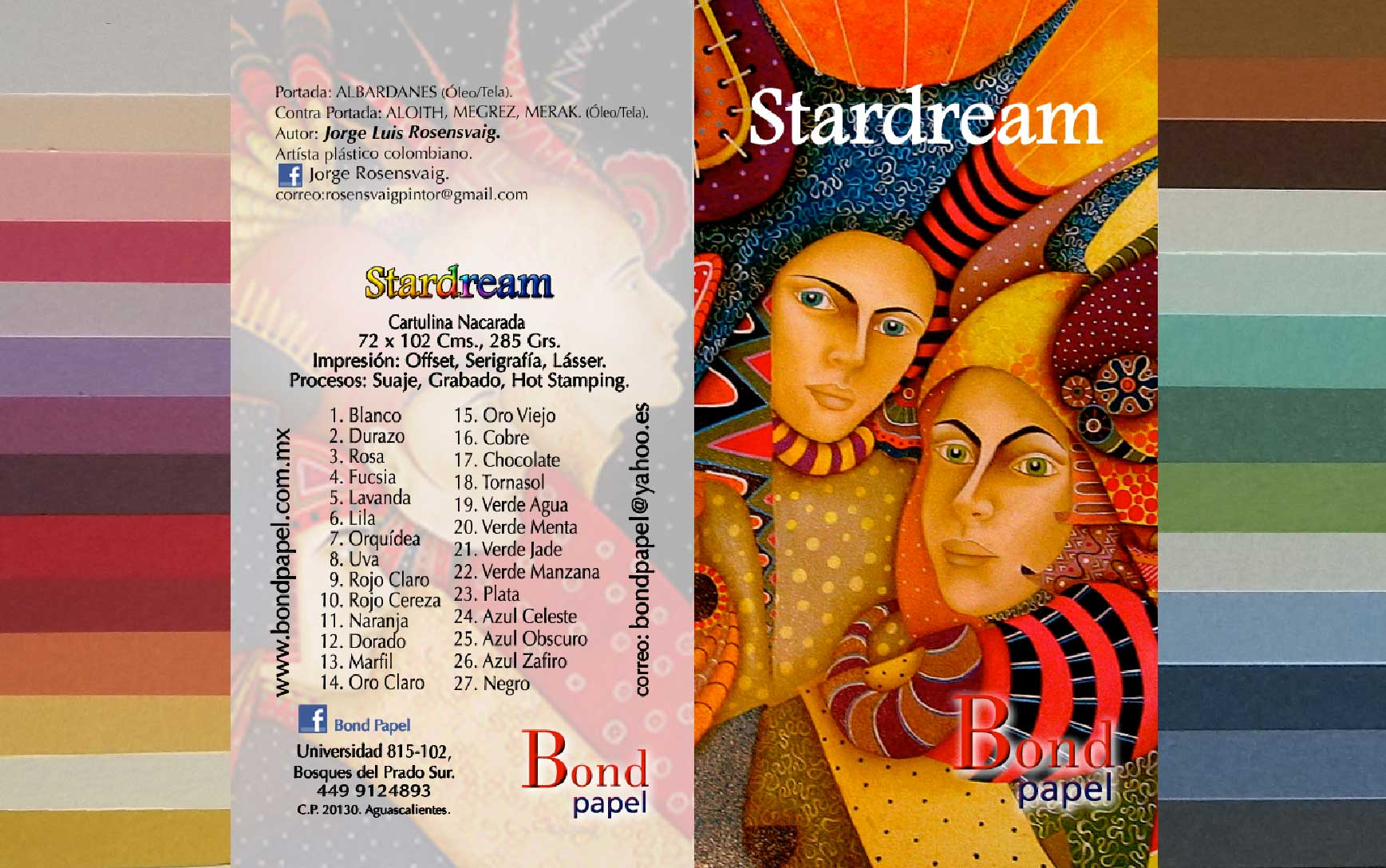 Papel y Cartulina Stardream Bondpapel