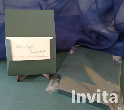 Sobre postal felt verde_opt Bond papel