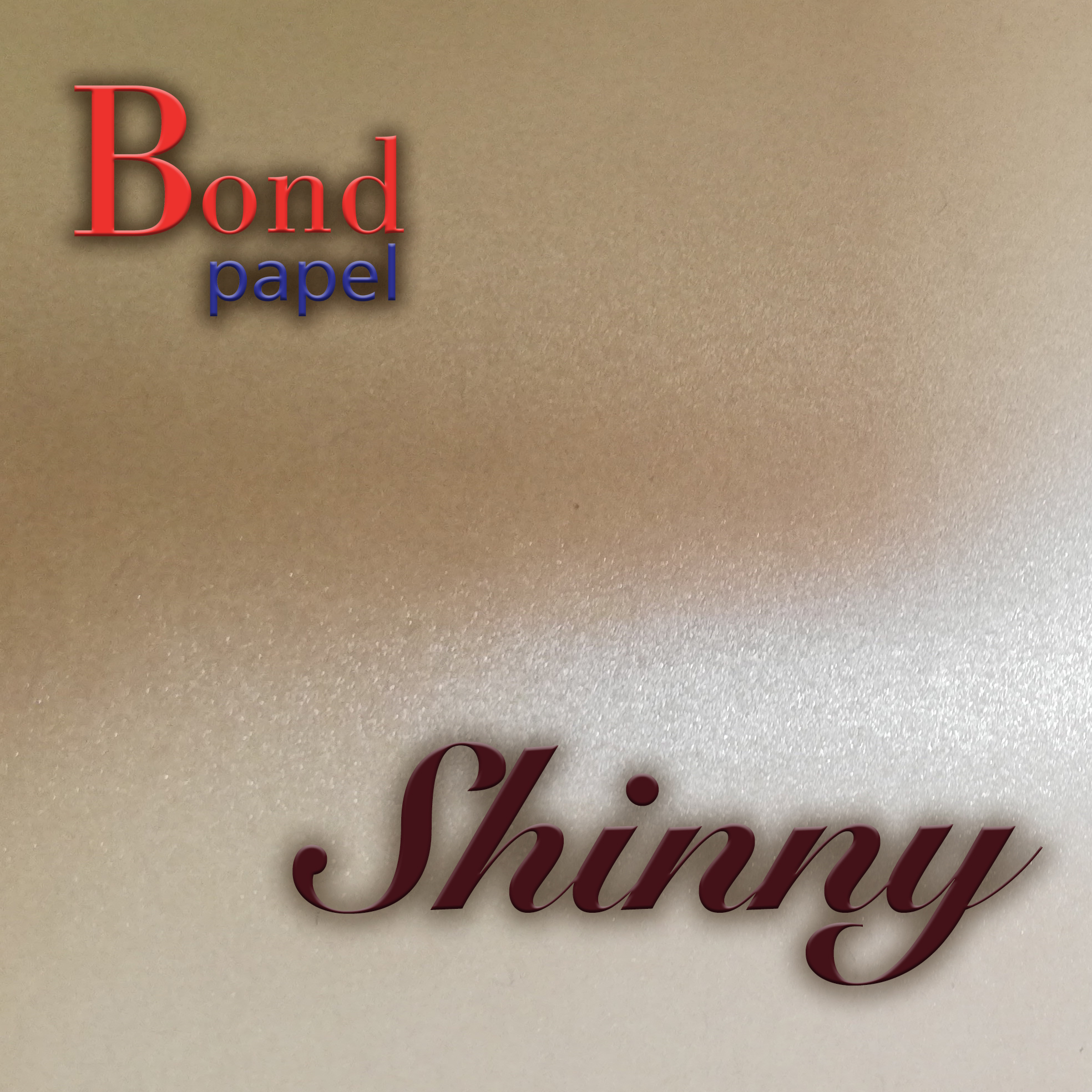 Papel y Cartulina Shinny Bondpapel