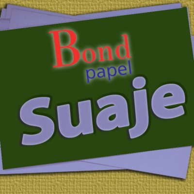 suaje boton Bond papel
